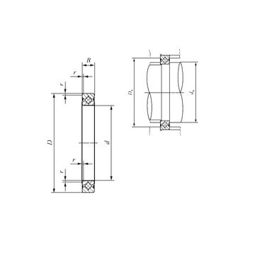 CRBS 508 A UU IKO Thrust Roller Bearings