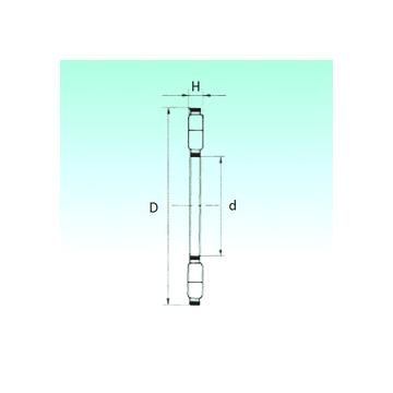 K89432-M NBS Thrust Roller Bearings