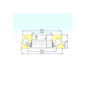 293/710 M ISB Thrust Roller Bearings