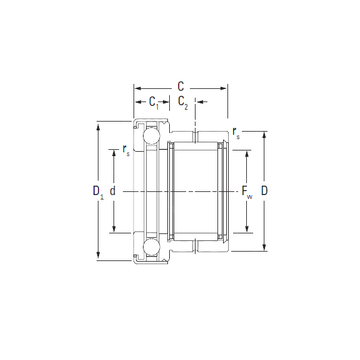 NAXK45Z KOYO Complex Bearings