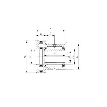 NBXI 1425 IKO Complex Bearings