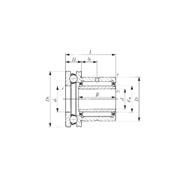 NAXI 723 IKO Complex Bearings