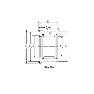 RAX 435 Timken Complex Bearings