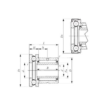 NAXI 4032Z IKO Complex Bearings