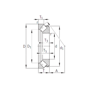 29332-E1 INA Thrust Roller Bearings