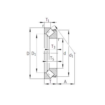 29352-E1 INA Thrust Roller Bearings