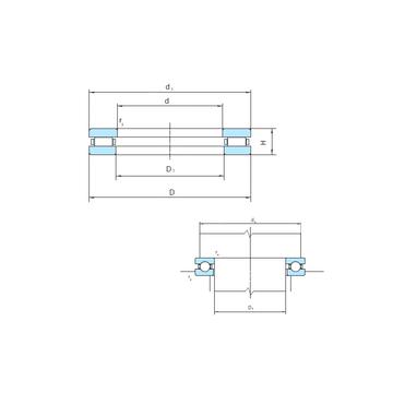 PSL912-301 PSL Thrust Roller Bearings