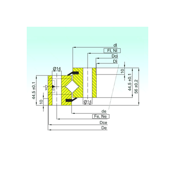 NR1.14.0944.200-1PPN ISB Thrust Roller Bearings