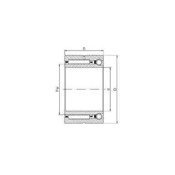 NKIA 5913 ISO Complex Bearings
