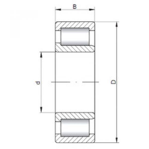Bearing NJF2309 V ISO #1 image