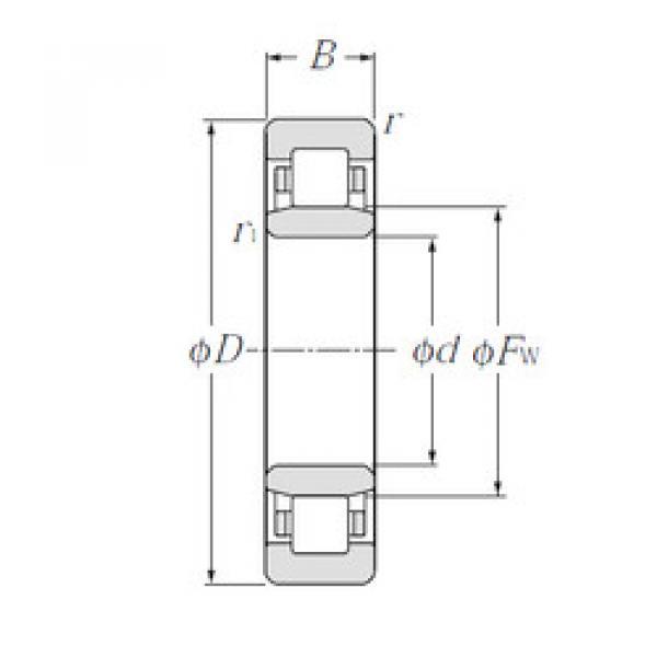 Bearing NU313E CYSD #1 image