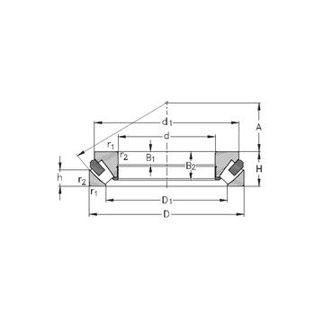 29388-M NKE Thrust Roller Bearings #1 image