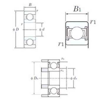 Bearing W689-2RD KOYO