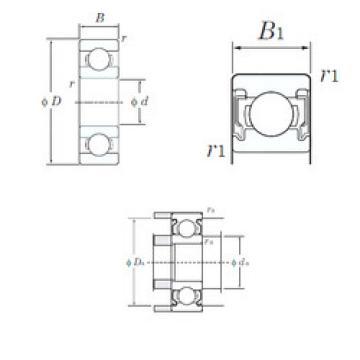 Bearing W689-2RU KOYO