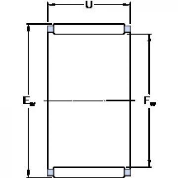 Bearing K 110x117x24 SKF