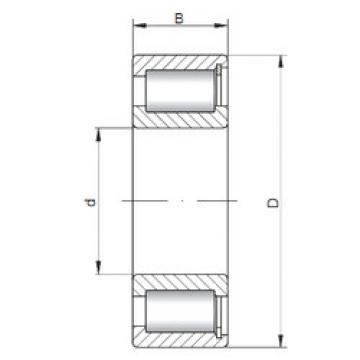 Bearing NCF29/500 V CX