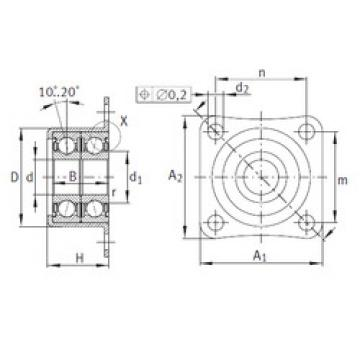 Bearing ZKLR1035-2Z INA