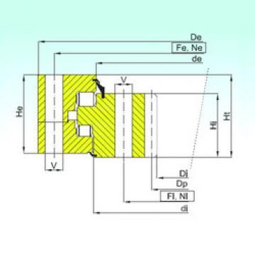 Bearing ZR3.20.1800.400-1SPPN ISB