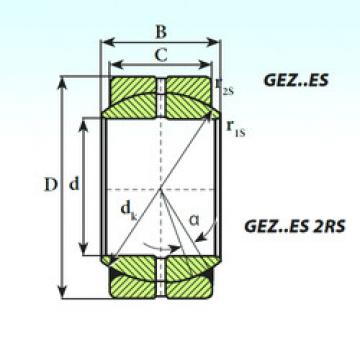 Bearing GEZ 34 ES 2RS ISB