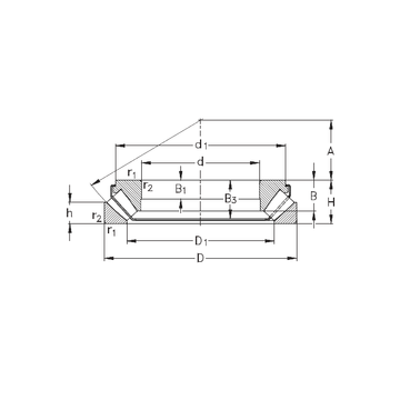 29340-EJ NKE Thrust Roller Bearings