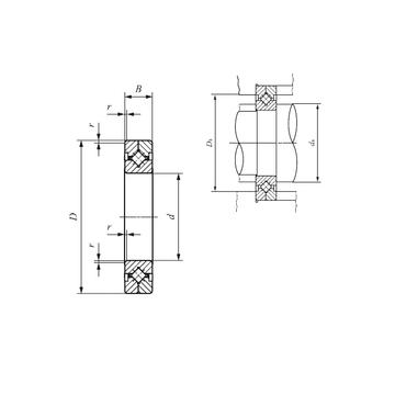 CRBC 30035 IKO Thrust Roller Bearings