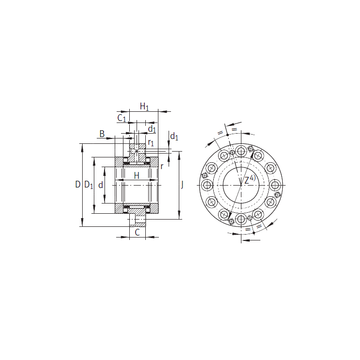 ZARF50115-TV INA Complex Bearings