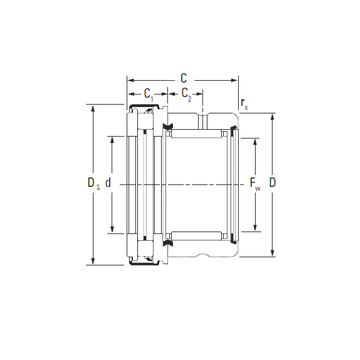 RAXZ 520 Timken Complex Bearings
