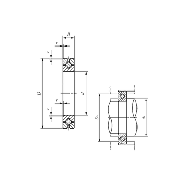 CRBH 208 A IKO Thrust Roller Bearings