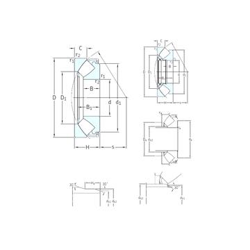 292/1180EF SKF Thrust Roller Bearings #1 small image