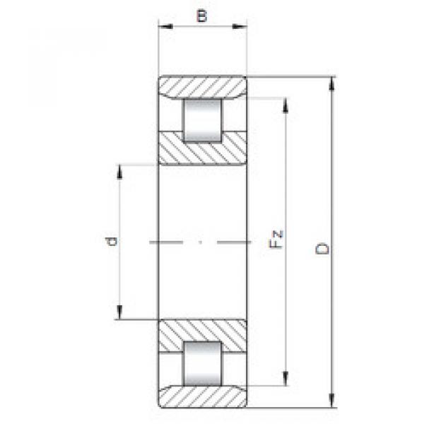 Bearing N3238 ISO #1 image