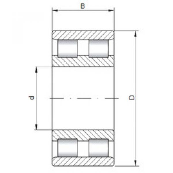 Bearing NN3980 ISO #1 image