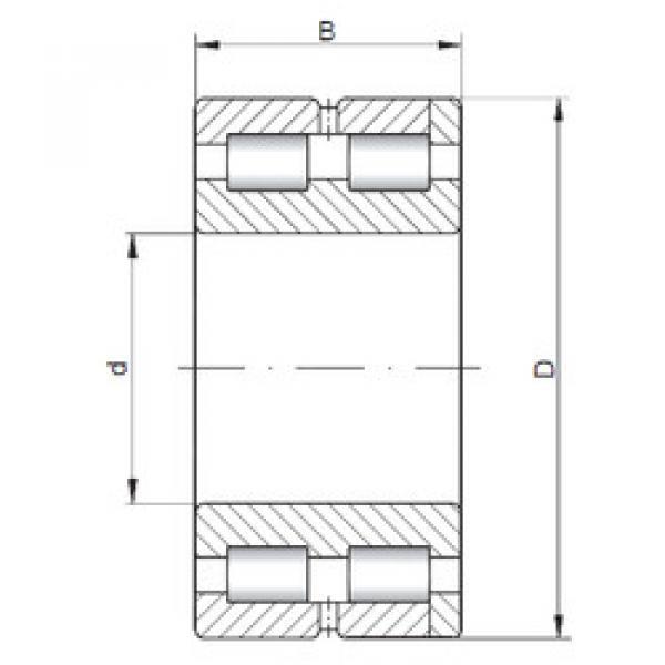 Bearing NNC4832 V ISO #1 image
