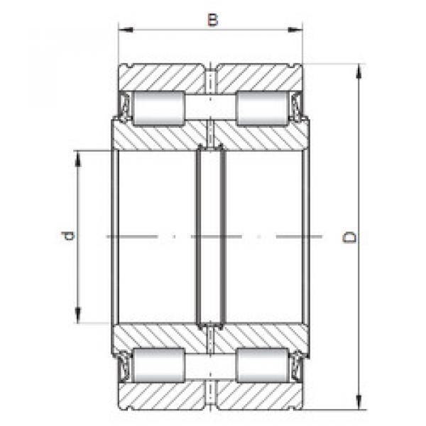 Bearing NNF5017 V ISO #1 image