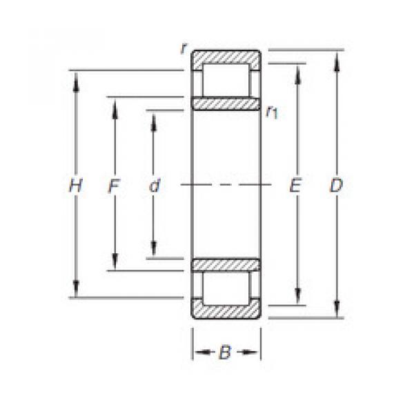Bearing NU304E.TVP Timken #1 image