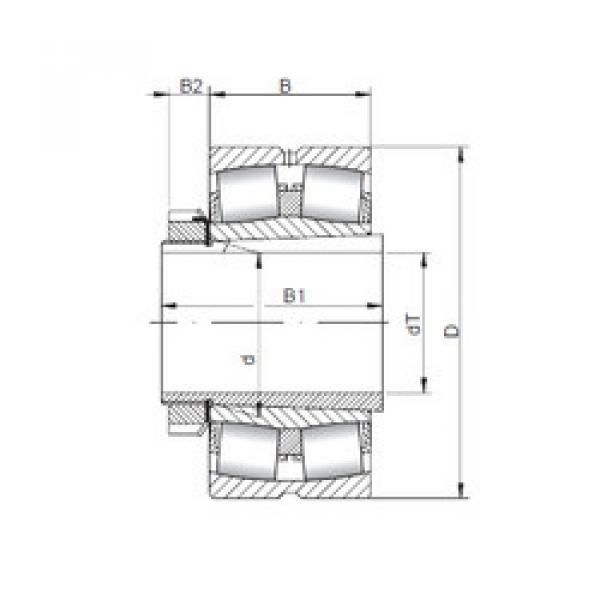 Bearing 239/560 KCW33+H39/560 CX #1 image