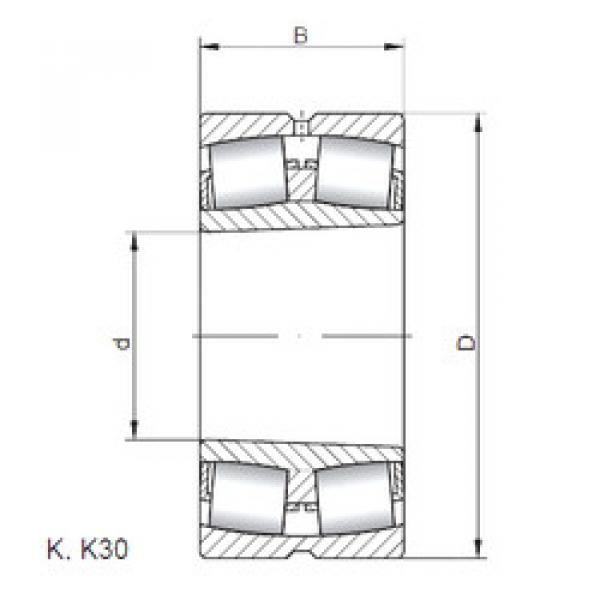 Bearing 239/600 KCW33 CX #1 image