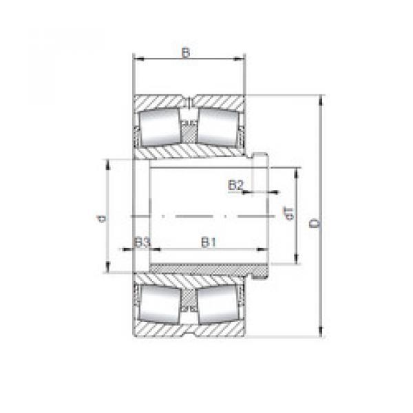 Bearing 239/670 KCW33+AH39/670 CX #1 image