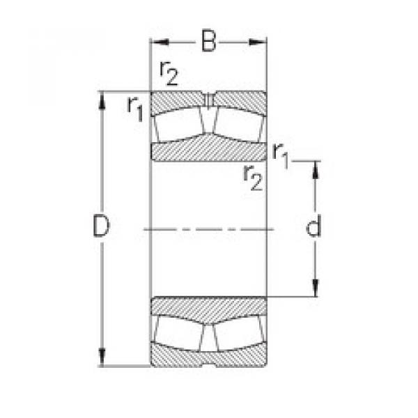 Bearing 239/670-MB-W33 NKE #1 image