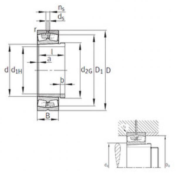 Bearing 239/560-B-K-MB+AH39/560 FAG #1 image