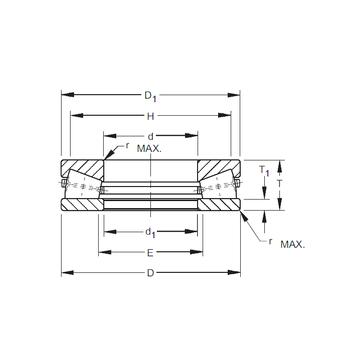 S-4077-C Timken Thrust Roller Bearings #1 image